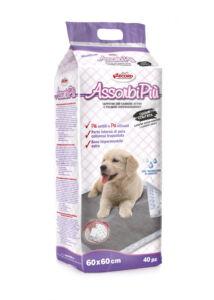 AssorbiPiu aktív karbonos kutyapelenka 60x60, 40 db