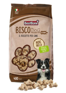 BISCODog Kutyakeksz Almás 400g