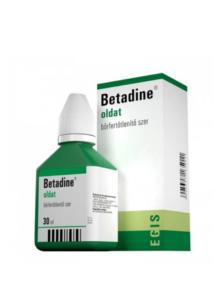 Betadine 30 ml bőrfertőtlenítő folyadék