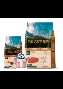 BRAVERY  12 kg ibériai sertés + 2 kg Mini bárány