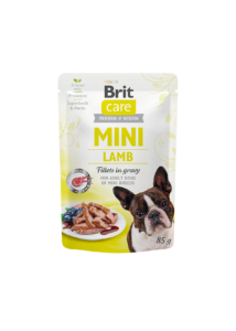 Brit Care Mini Lamb fillets in gravy 85g