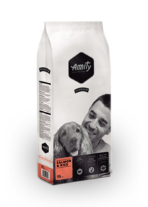 Amity Premium Salmon + Rice 3 kg kutyatáp
