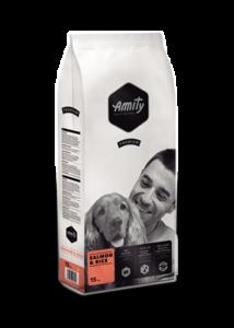 Amity Premium Salmon + Rice 15 kg kutyatáp