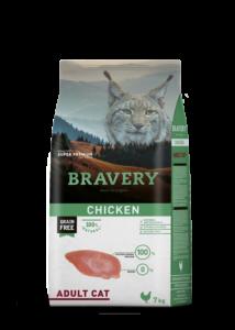 BRAVERY macska csirke 7 kg