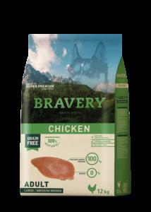BRAVERY  12 kg csirke