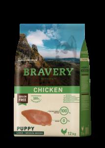 BRAVERY 12 kg JUNIOR csirke