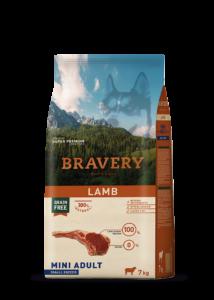 Bravery Lamb Mini Adult Small Breeds 7 kg kutyatáp