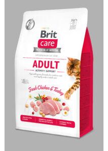 BRITCare Cat ACTIVITY csirke-pulyka 2 kg