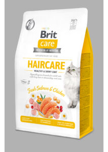 BRIT Care Cat HAIRCARE lazac-csirke 400 g
