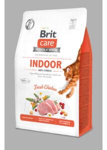BRITCare Cat INDOOR ANTI-STRESS csirke 2 kg