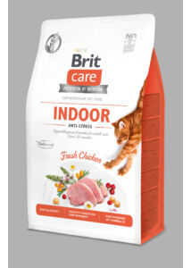 BRIT Care Cat INDOOR ANTI-STRESS csirke 400 g
