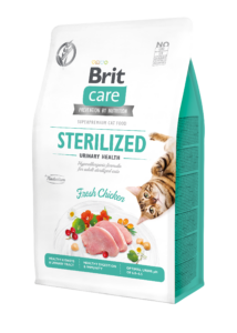 BRIT Care Cat STERILIZED URINARY csirke 400 g