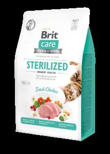 BRITCare Cat STERILIZED URINARY csirke 400 g