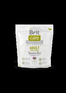 Brit Care Adult Small bárány-rizs 1 kg