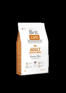 Brit Care Adult bárány-rizs 3 kg