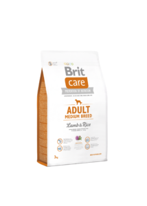 Brit Care Adult Medium Lamb & Rice 3 kg