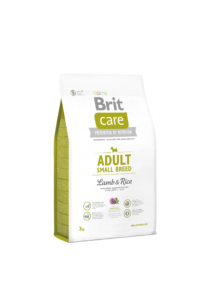 Brit Care Adult Small bárány-rizs 3 kg