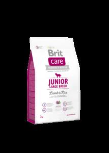 Brit Care Large Junior bárány-rizs 3 kg