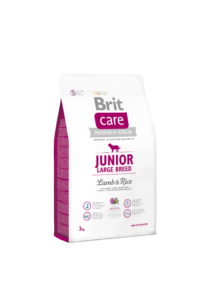 Brit Care Junior Large breed Lamb&Rice 3 kg