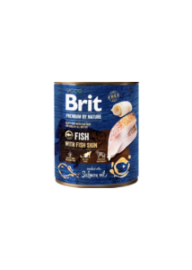 Brit Pr By Nature Fish with Skin 800 g