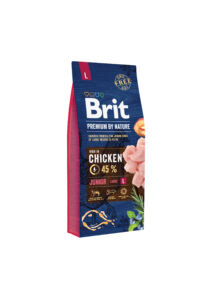 Brit Premium Junior Large friss csirke 15 kg