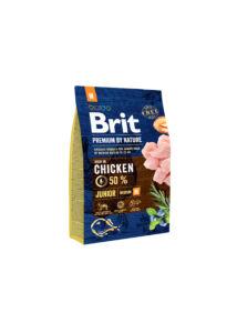 Brit Premium Junior friss csirke 3 kg