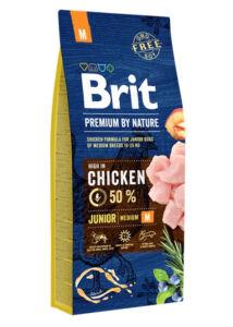 Brit Premium by Natrure Junior M 15 kg