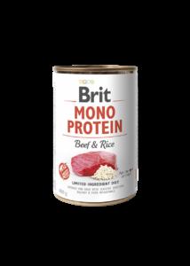 Brit Mono Protein Beef & Brown Rice 400 g