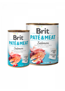 Brit Paté & Meat Salmon 400 g