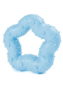 RECORD Primi Morsi kutyajáték TPR gumi kiscsillag kék 9cm