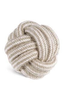 Record Natural cotton kutyajáték juta kötéllabda 10 cm