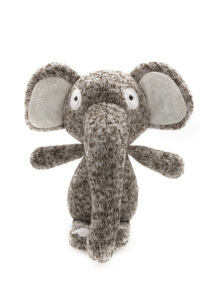 RECORD SOFTY kutyajáték puha pamut elefánt 16,5cm