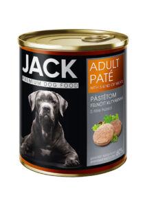Jack kutya konzerv pástétom adult 5 hús 800 g