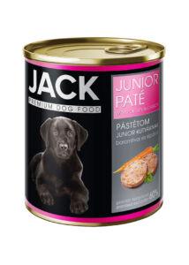 Jack kutya konzerv pástétom junior szárnyas 800g