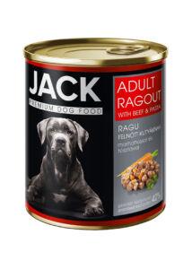 Jack kutya konzerv ragu adult marha 800 g