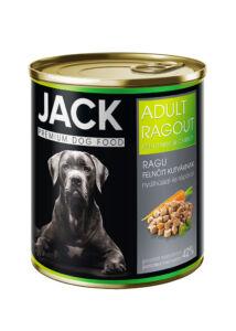 Jack kutya konzerv ragu adult nyúl-répa 800g