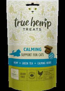 True Hemp Calming Cat treats - jutalomfalat macskáknak - nyugtató - 50 g