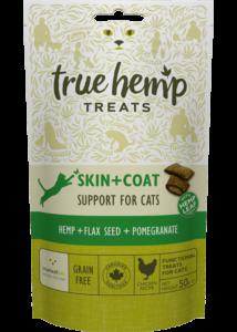 True Hemp Skin - Coat Cat treats - jutalomfalat macskáknak - bőr- és szőrvédő - 50 g