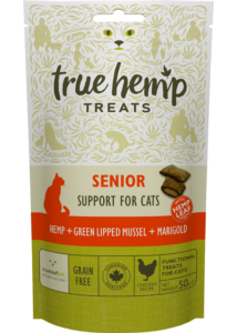 True Hemp Cat Senior 50g 4+4 db akció