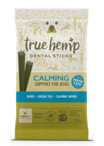 True Hemp Dog Dental Sticks Calming 100g