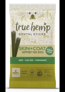 True Hemp Dog Dental Sticks Skin+Coat 100g