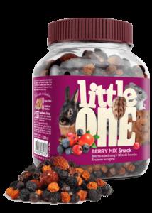 Little One Erdei Bogyós Mix Jutalomfalat Kisemlősöknek, 200 g
