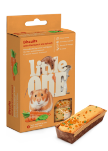 Little One Süti Kisemlősöknek sárgarépával és spenóttal 5x7 g