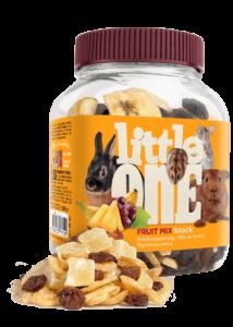 Little One Gyümölcs Mix Jutalomfalat Kisemlősöknek, 200 g