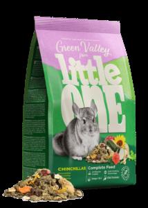 Little One Green valley Rostos Eleség Zöldséggel Csincsillának 750 g
