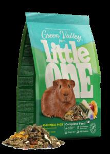 Little One Green valley Rostos Eleség Zöldséggel Tengerimalacnak, 750 g