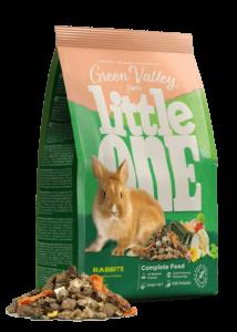Little One Green valley Rostos Eleség Zöldséggel Törpenyúlnak 750 g