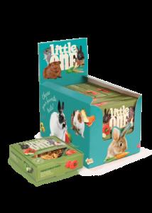 Little One Zöldséges Pizza Jutalomfalat Kisemlősöknek, 55 g