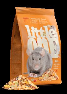 Little One eleség patkánynak 900 g