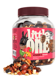 Little One C-Vitaminos Jutalomfalat Kisemlősöknek, 180 g